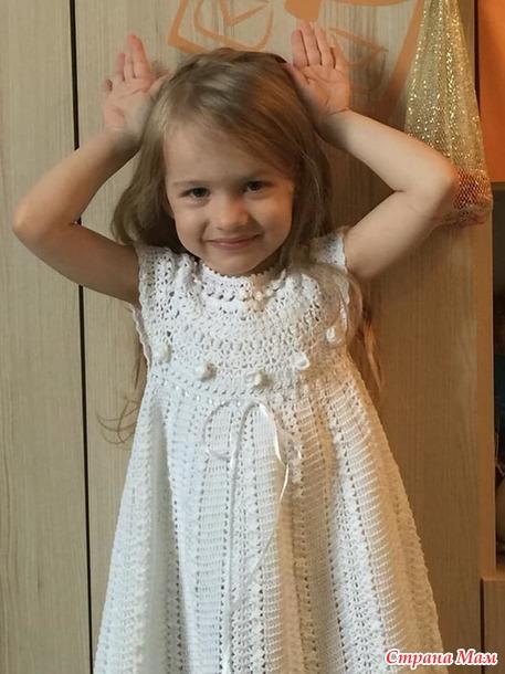 Платья для Алисы (крючок, спицы)
