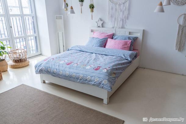 Туркменское фланелевое постельное белье-необычайно уютное, мягкое и теплое!!! Реклама. Россия.