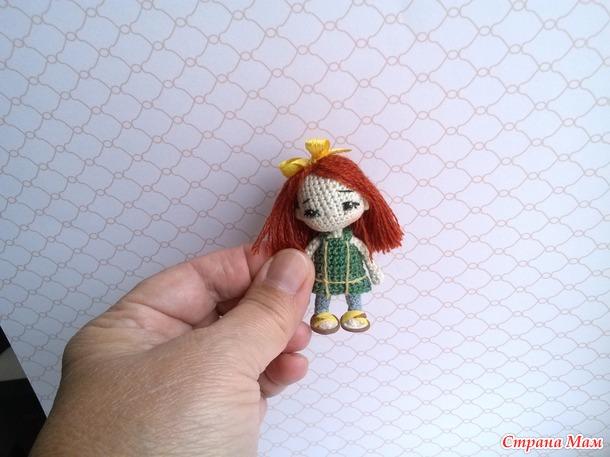 Миниатюрная куколка
