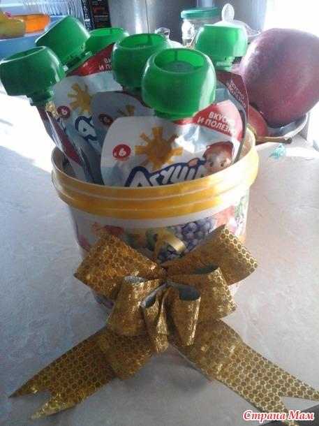 Декоративный горшочек на день рождения внучки