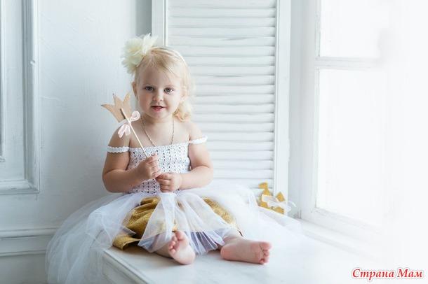 Нарядное платье для девочки. Из непоказанного.