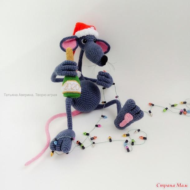 Крыс новогодний Левайс!