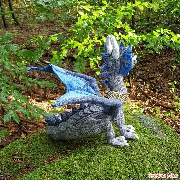 Никогда не говори никогда ;). Связала повтор дракона.