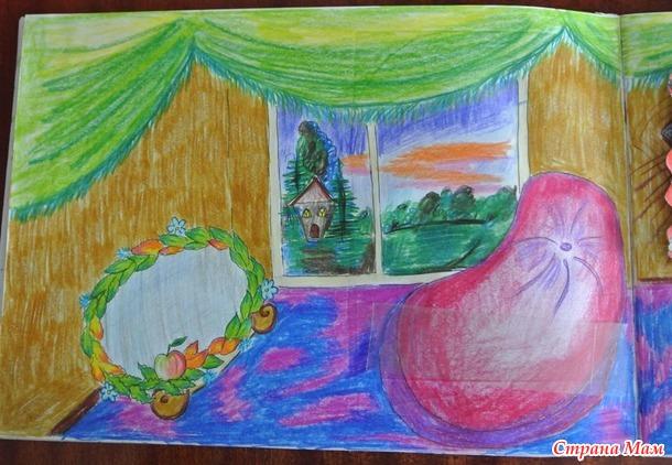Рисую для дочки бумажный дом... Бумажные куклы