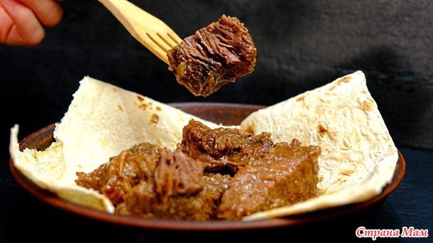Это мясо можно есть губами! БЕЗ преувеличений! НЕИМОВЕРНО мягкая говядина