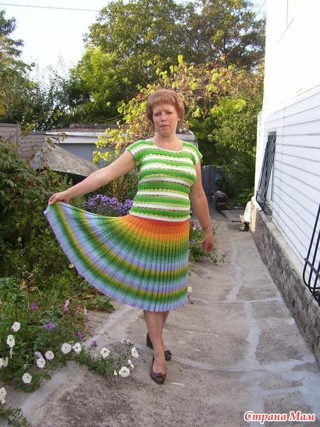 юбка -болгарка - летний вариант