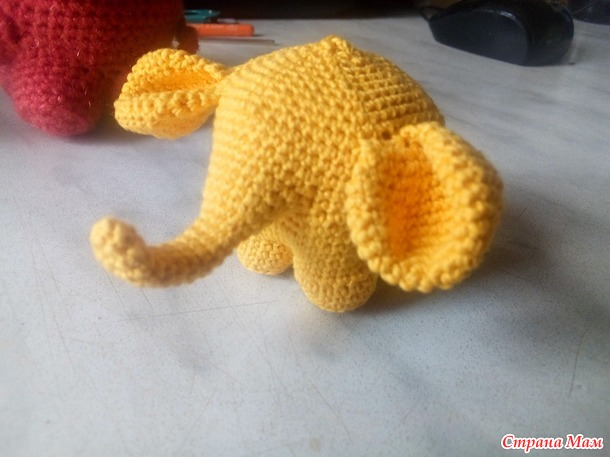 Слоники без сшивания. Мое описание