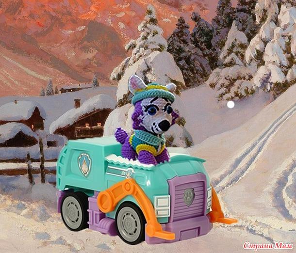 """Эверест, щенок из мультфильма """" Щенячий патруль"""". """" Сказочный марафон"""""""