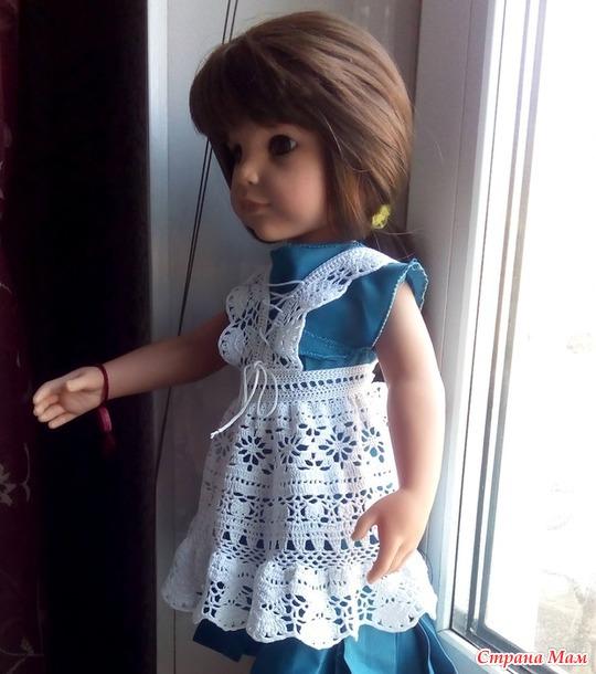 Мои новые наряды для кукол.