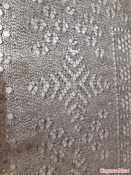 Оренбургская ажурная шаль