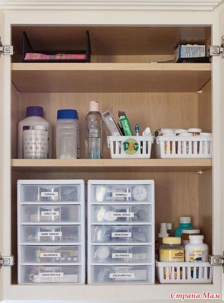 Марафон порядка - День 10 - Домашняя аптечка