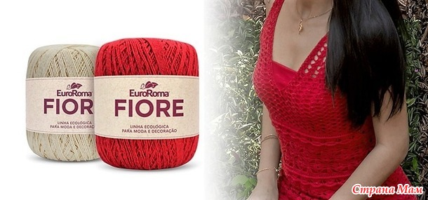 Ярко-красное платье AMY от Mari Croch
