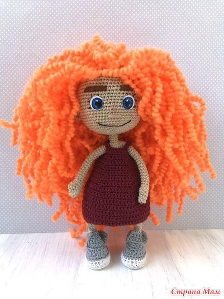 Кукла крючком амигуруми