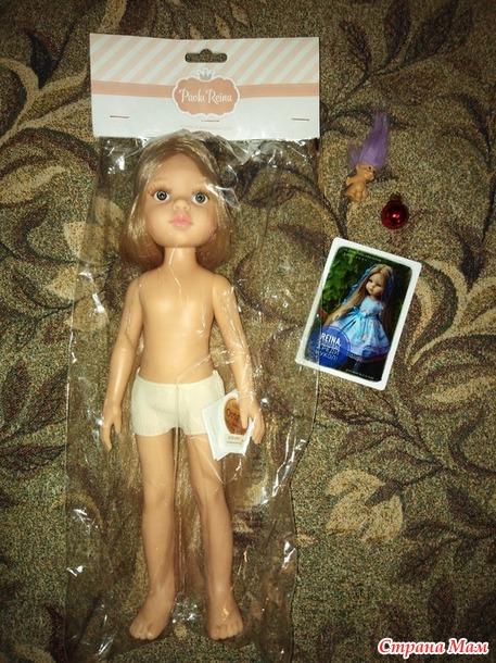 Пополнение в куклосемействе и новые наряды