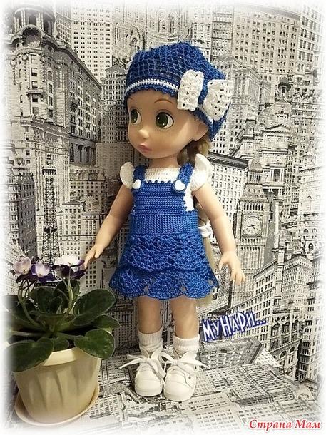 Новые наряды для любимых куклодевочек.