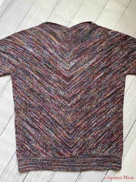 "Пуловер ""Японка"". Видео МК"