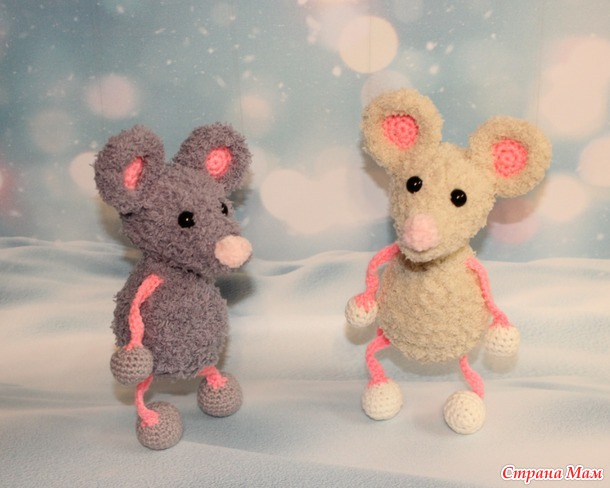 Мои мышки - символ 2020 года.