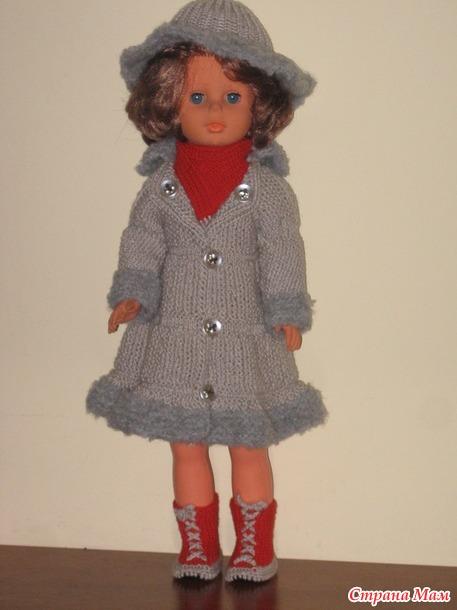 Зимние наряды для кукол,