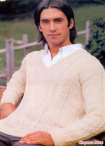 Вязание для взрослых. Мужская мода спецвыпуск 2005 - 2 весна - лето спицы