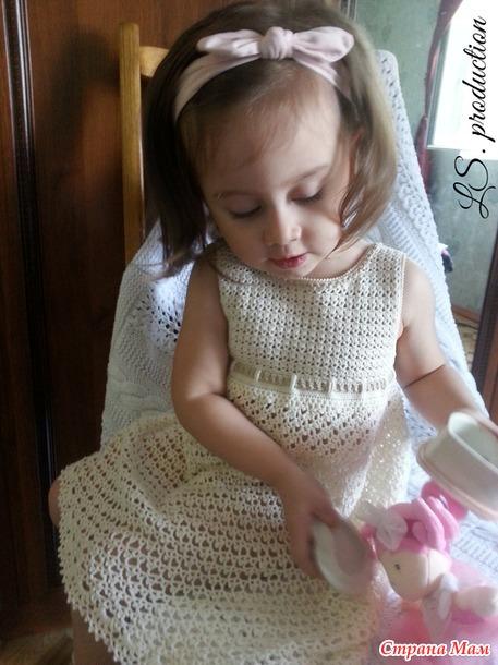 Платье Melina. Автор модели Ольга Бугданина