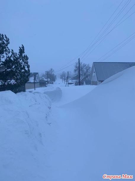 Где весь снег? Да у нас в Сибири...