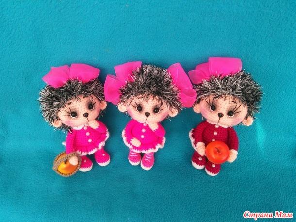 Вязаные игрушки (Россия)