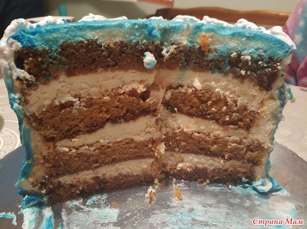 В синем море в белой пене... МедузАААА, МедузААА. Морские гады и на торт? Ага, креативненько