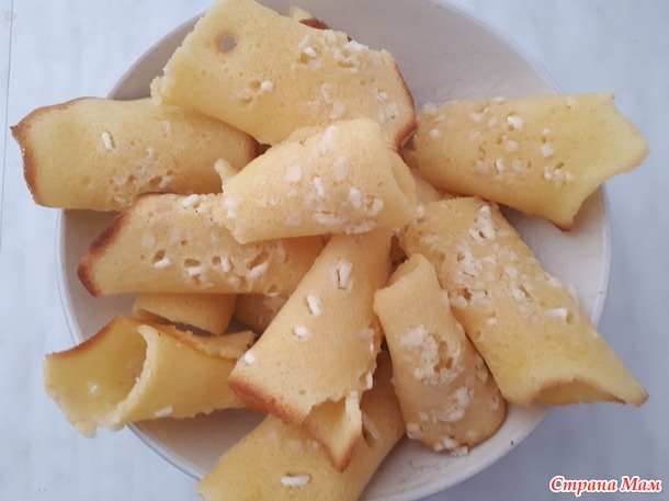 Яичное печенье