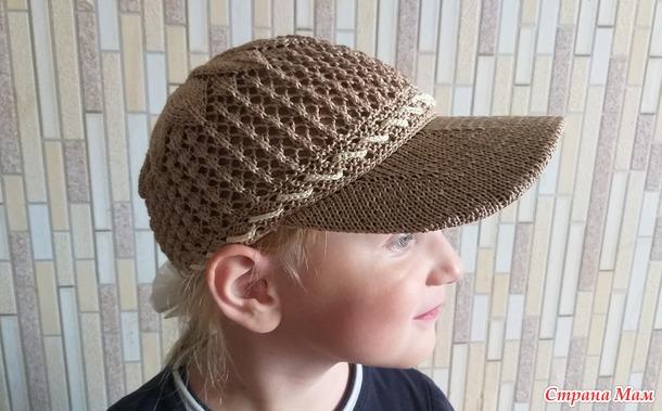 Ажурная шапочка и кепочка для девочки 6 лет. Свяжем вместе?