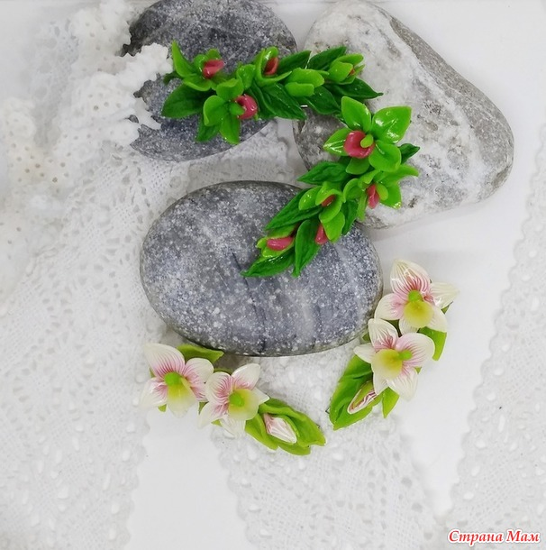 хохлома, цветы, всё, что лепилось
