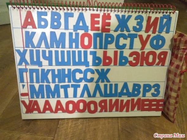 Магнитная азбука Жуковой