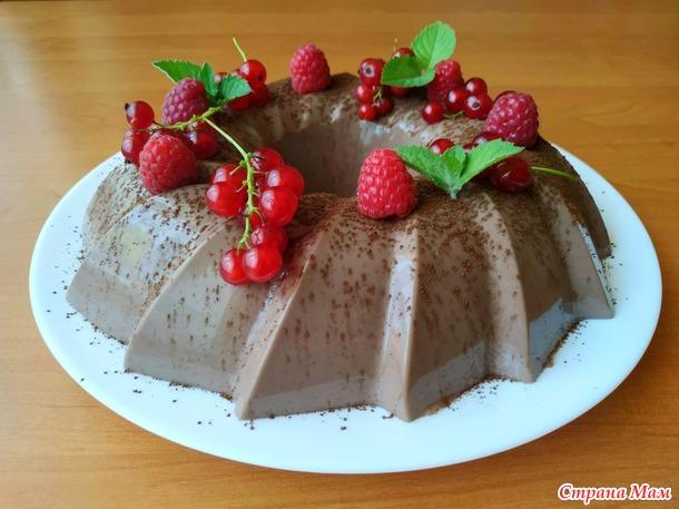 Шоколадный десерт из простой ряженки!