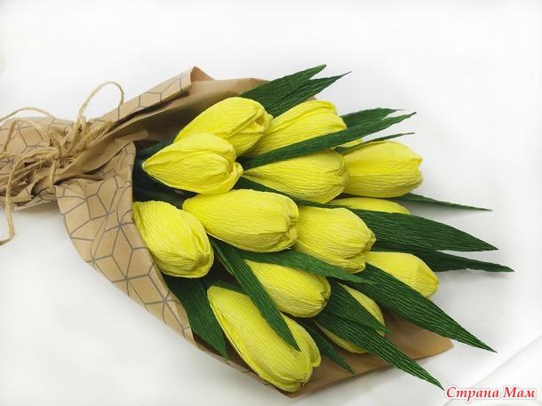 Букет тюльпанов к 8 Марта!!!