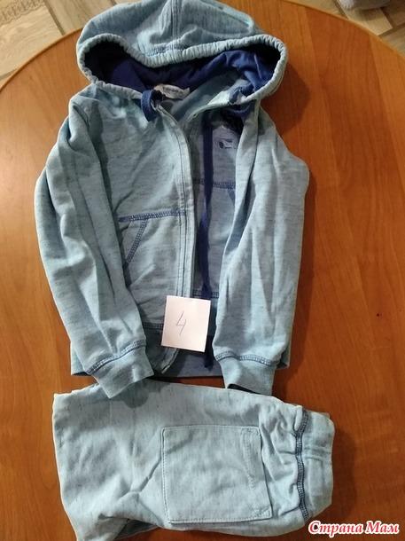 Продам одежду б/у на мальчика 4 года пакетом.