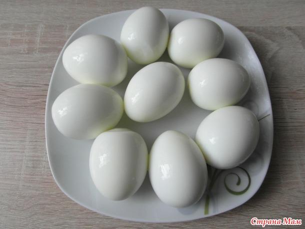 АБВГДЕЙка. Вареные яйца.