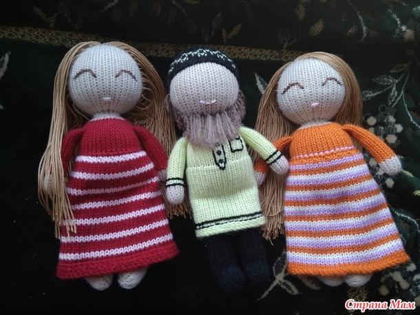 МАСТЕР-КЛАСС по вязанию куклы на вязальной машине