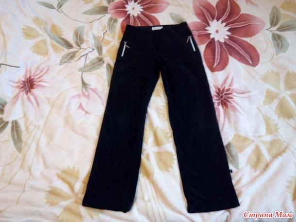продам брюки девочке по 100 руб, б/у, Россия