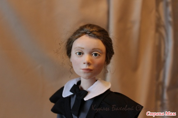 Новая кукла. Гимназистка.