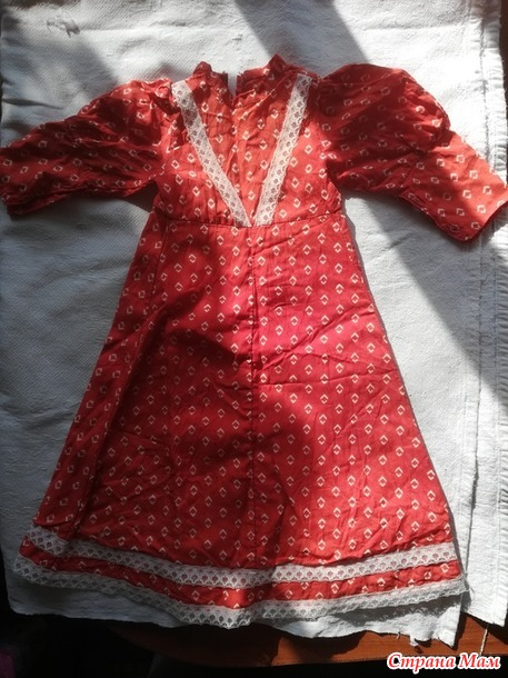 Советская кукла в несоветской одежде