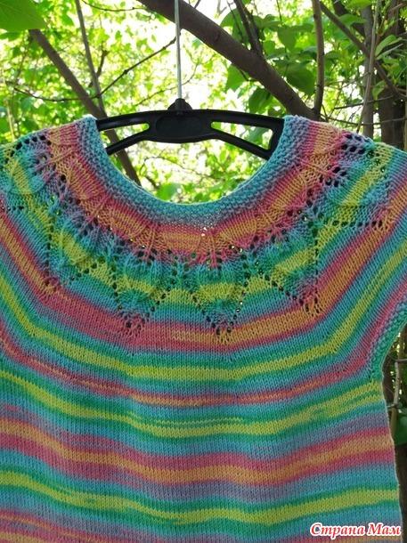 Платье из батика