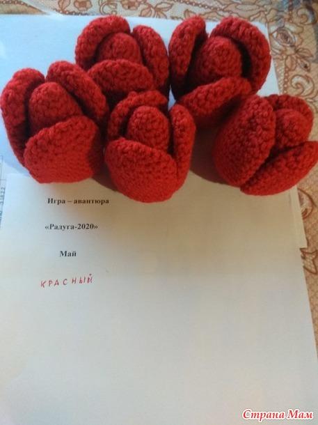 """Для майской """"Радуги"""" красные тюльпаны. Отчет"""