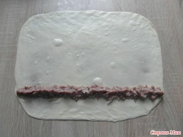 Вертута с мясом.