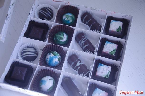 сбылась мечта! Я научилась делать корпусные конфеты!