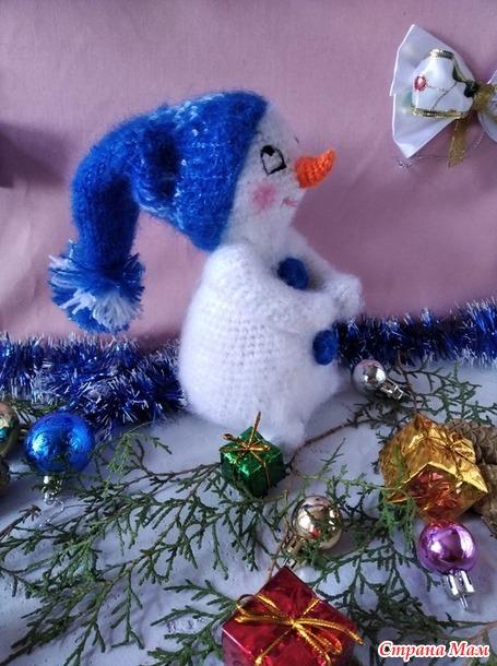 Малыш Снежок. ( Новогодний конкурс)