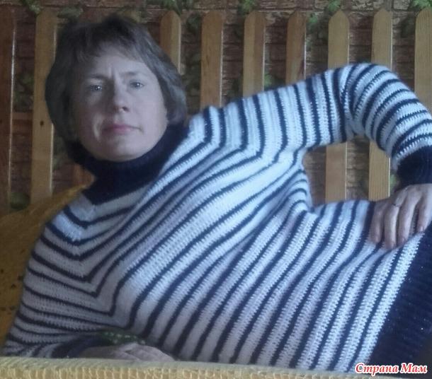 Случайный свитер в полосочку