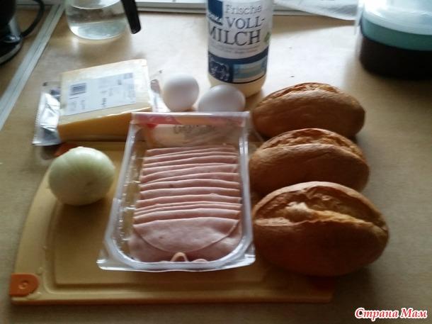 Гренки из булочек на ужин/завтрак