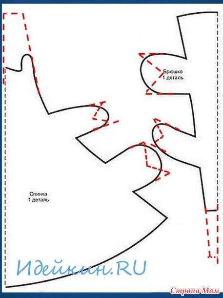 Совместный отшив симпатичных бычков! Этап №1. Этап №2 - дополнила. Этап №3. Этап №4. Этап №5 - эксперимент с рогами. Этап №6 - заключительный.