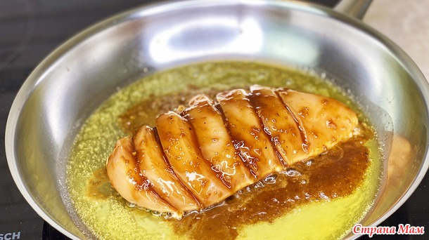 Мое самое любимое блюдо - Курица Терияки с готовым соусом рецепт