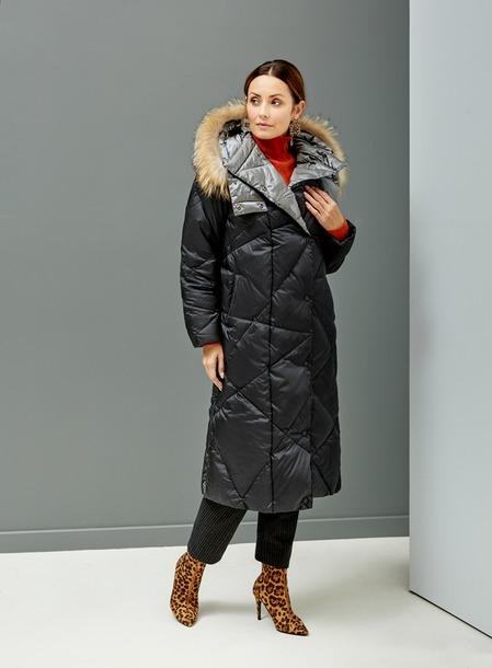Эко стиль. Новая коллекция пуховиков и пальто.