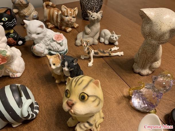 Моя коллекция кошек, или что вы собираете?